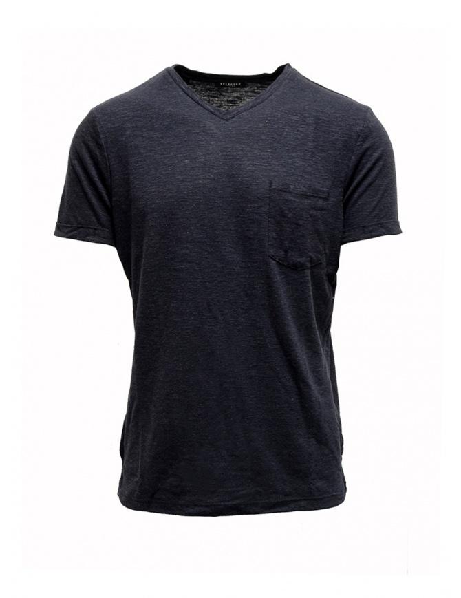 Selected Homme dark sapphire blue t-shirt 16067625 DARK SAPPHIRE mens t shirts online shopping