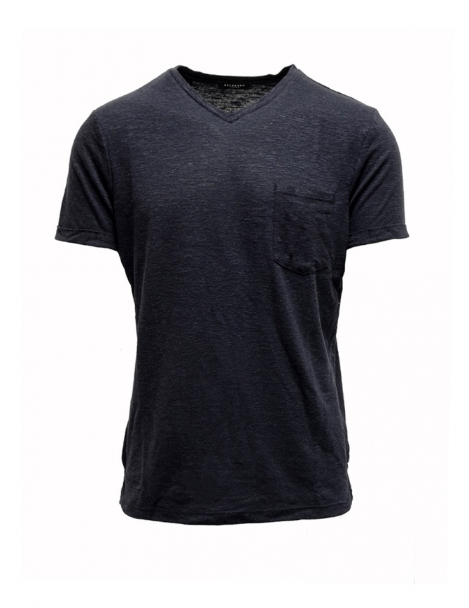 T-shirt Selected Homme blu scuro zaffiro 16067625 DARK SAPPHIRE t shirt uomo online shopping