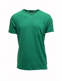 T-shirt Selected Homme pepe verde 16067625 PEPPER GREEN