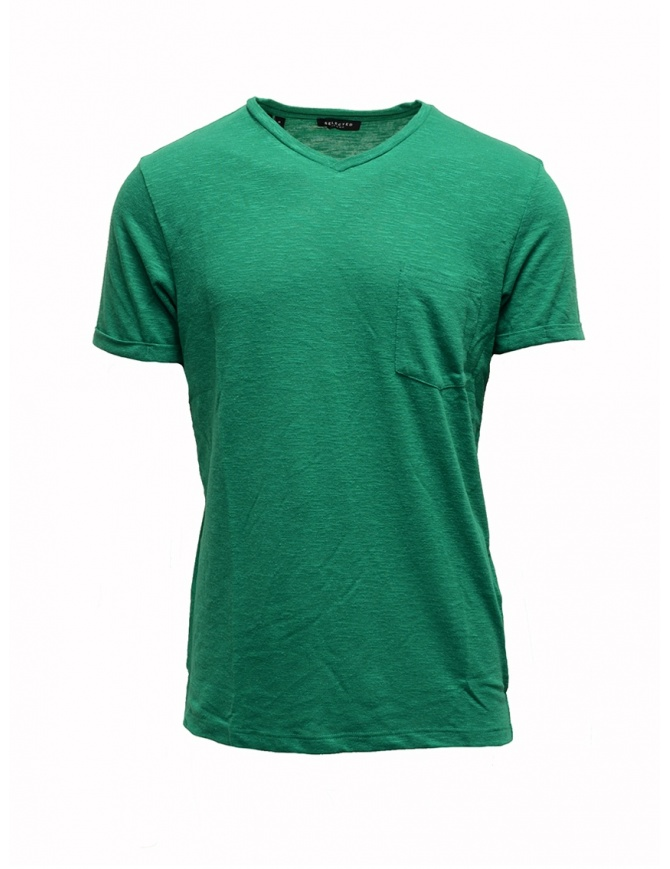 T-shirt Selected Homme pepe verde 16067625 PEPPER GREEN t shirt uomo online shopping