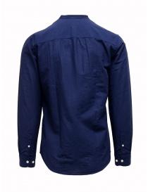 Selected Homme dark blue corean collar shirt