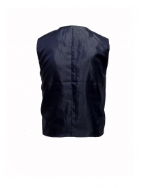 Selected Homme vest with grey and blue squares