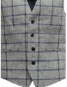 Selected Homme vest with grey and blue squares 16067387 GREY/BLUE price