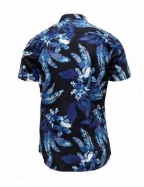 Camicia Selected Homme blu scuro zaffiro tropicale