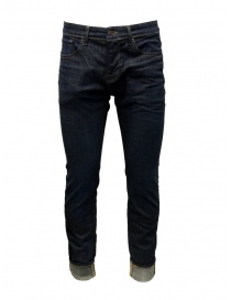 Mens jeans online: Selected Homme dark blue slim jeans