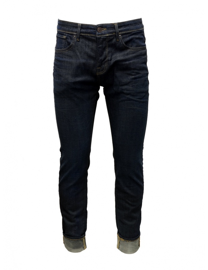 Jeans slim Selected Homme blu scuri 16064173 DARK BLUE SLIM jeans uomo online shopping