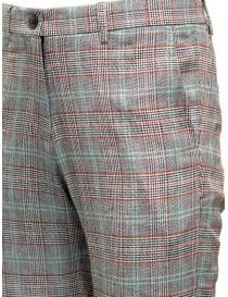 Pantaloni Selected Homme grigi completo a quadri prezzo