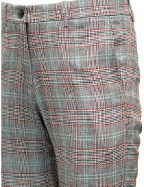 Selected Homme grey checkered suit trousers price