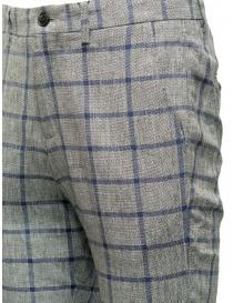 Pantaloni Selected Homme a quadri grigi e blu prezzo