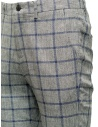 Selected Homme trousers with grey and blue squares 16067498 GREY/BLUE price