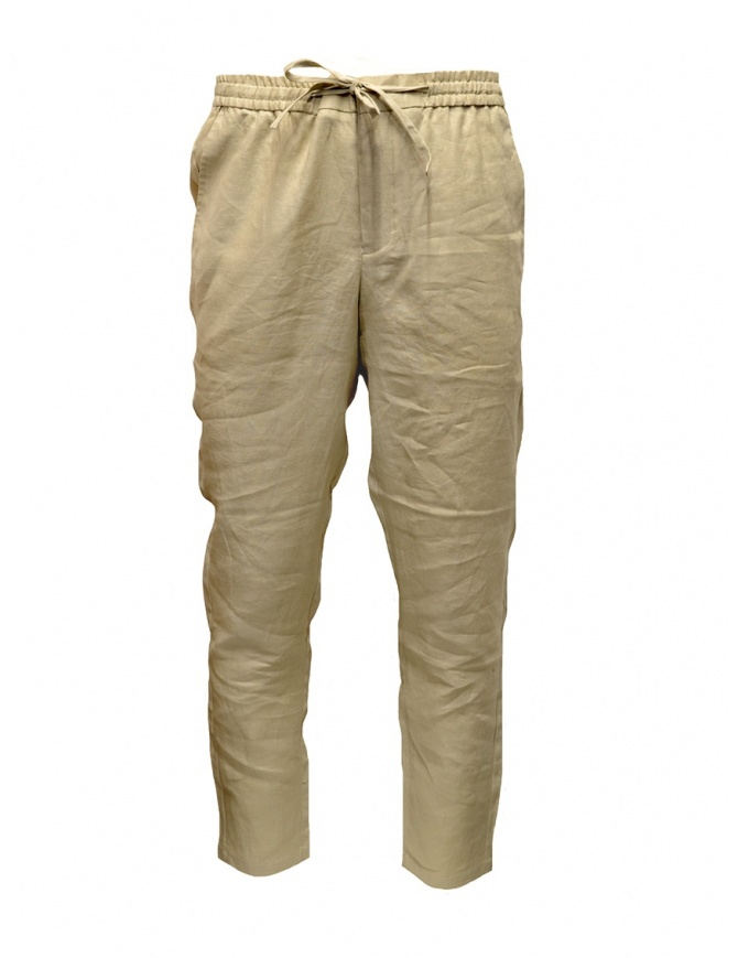 Pantaloni Selected Homme beige peyote 16067386 PEYOTE pantaloni uomo online shopping