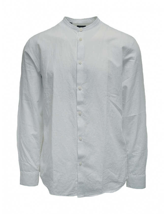 Camicia Selected Homme collo coreana bianca 16067894 WHITE camicie uomo online shopping