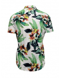 Selected Homme tropical white shirt
