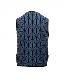 Kapital vest blue and black with pockets buy online