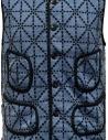 Gilet Kapital blu e nero con tasche K1810SJ092 BLUE prezzo