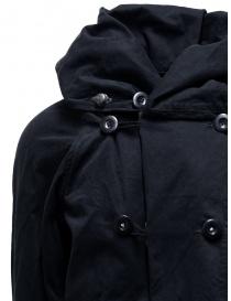 Cappotto Kapital nero con chiusure multiple cappotti uomo acquista online