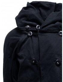 Kapital black coat with multiple closures mens coats buy online