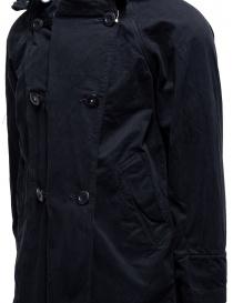 Cappotto Kapital nero con chiusure multiple cappotti uomo prezzo