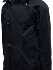 Kapital black coat with multiple closures mens coats price