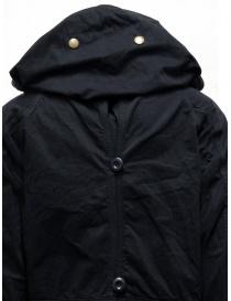 Cappotto Kapital nero con chiusure multiple acquista online prezzo