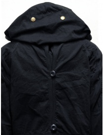 Kapital black coat with multiple closures buy online price