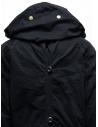 Cappotto Kapital nero con chiusure multiple prezzo EK-447 BLACKshop online