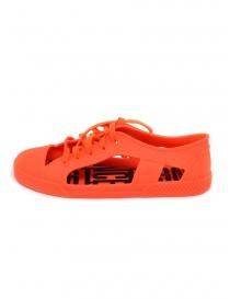 Melissa + Vivienne Westwood Anglomania orange sneaker