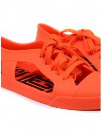 Melissa + Vivienne Westwood Anglomania orange sneaker womens shoes buy online