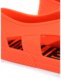 Melissa + Vivienne Westwood Anglomania orange sneaker womens shoes price
