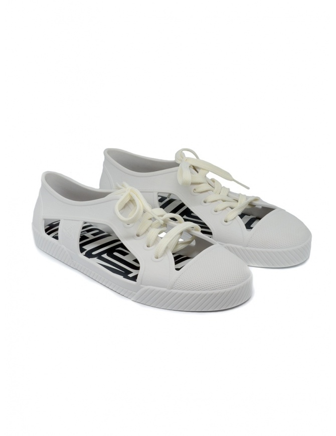 Melissa + Vivienne Westwood Anglomania white sneaker 32354-01177 WHI womens shoes online shopping