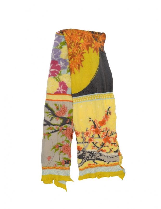 Kapital scarf four seasons patchwork K1509XG335 CREAM scarves online shopping