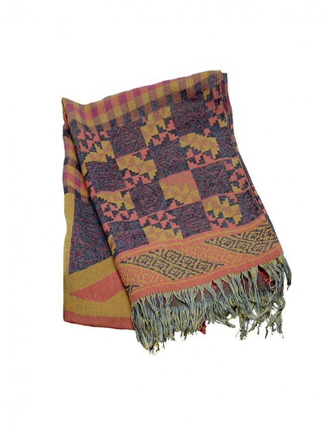 Kapital scarf geometric pink K1407XG412 PINK scarves online shopping