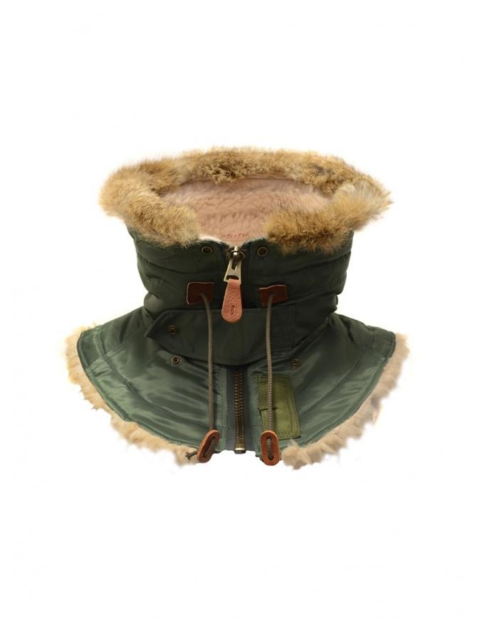 Collo Kapital di pelo color khaki K1711XG639 KHAKI NECK WARMER sciarpe online shopping