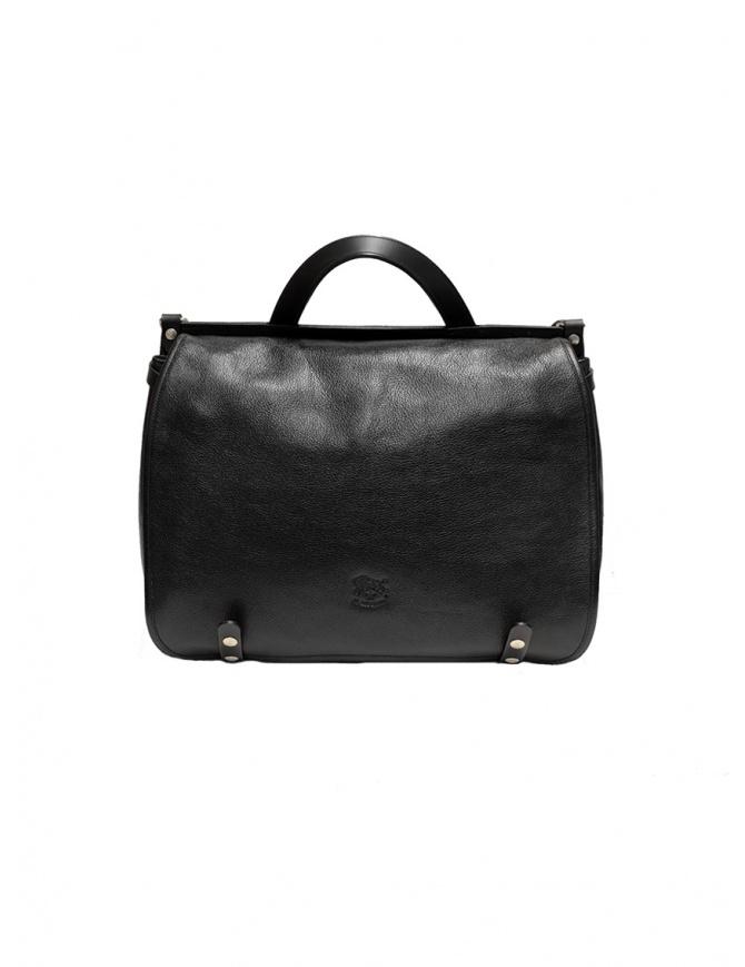 Cartella Il Bisonte pelle nera D0305.P 135N borse online shopping