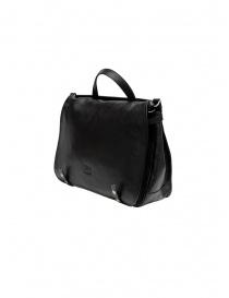 Cartella Il Bisonte pelle nera borse acquista online