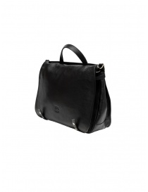 Il Bisonte black leather briefcase bags buy online