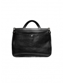 Il Bisonte black leather briefcase bags price