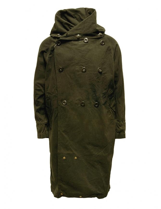 Cappotto Kapital khaki con chiusure multiple EK-447 KHAKI cappotti uomo online shopping