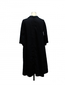 Casey Vidalenc black linen and cotton dress