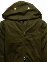 Cappotto Kapital khaki con chiusure multiple prezzo EK-447 KHAKIshop online