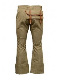 Kapital beige trousers with big pocket