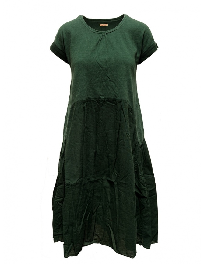 Abito Kapital verde EK424 DRESS GREEN abiti donna online shopping
