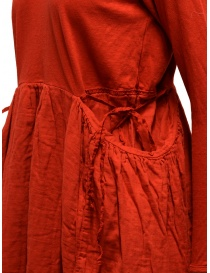 Kapital long-sleeved red long dress price