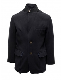 Kapital navy coat with printed lining online