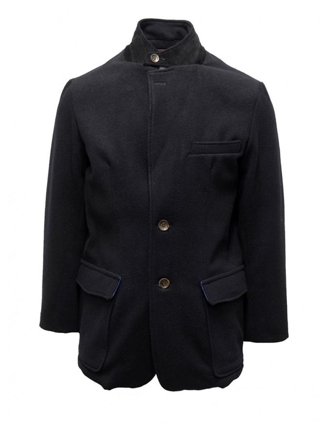 Cappotto Kapital blu navy fodera stampata K1810LJ094 NAVY giubbini uomo online shopping