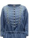Kapital indigo long dress with golden buttons K1903OP017 PRO price