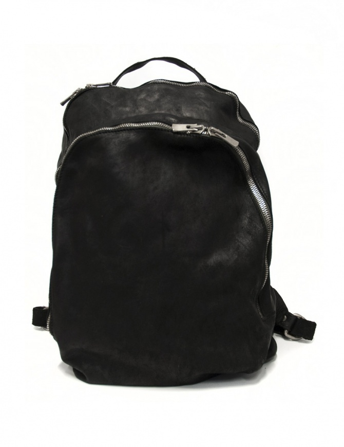 Guidi DBP06 horse leather backpack DBP06 SOFT HORSE FULL GRAIN BLKT bags online shopping