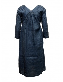 Kapital indigo dress with ribbons