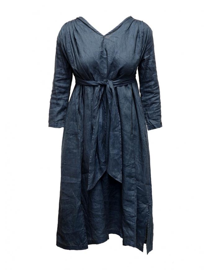 Kapital indigo dress with ribbons K1903OP018 IDG womens dresses online shopping