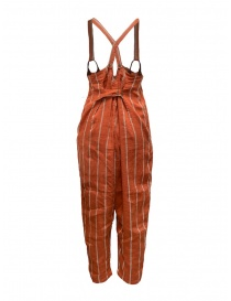 Kapital red striped salopette buy online